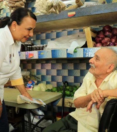 Piden locatarios dignificar la imagen del Mercado 23: Graciela Saldaña