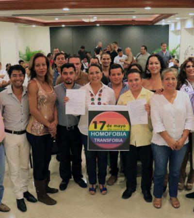 Debemos de legislar en materia de diversidad sexual e identidad de género: Graciela Saldaña