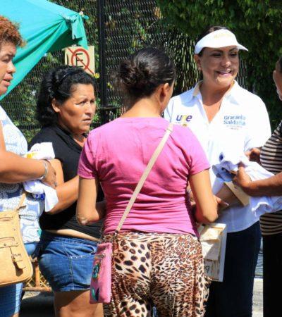 Cancún exige recuperar la seguridad: Graciela Saldaña