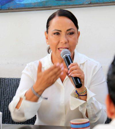 El sistema educativo quintanarroense colapsado se recuperará desde el Congreso: Graciela Saldaña