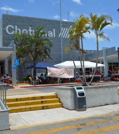 Ejidatarios levantan plantón del Aeropuerto de Chetumal tras un acuerdo preliminar para pagar indemnización por tierras