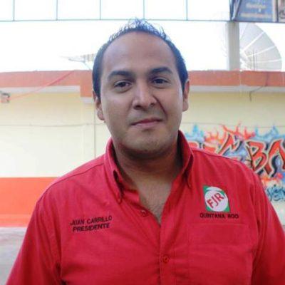 EL PRIRATA DE ISLA MUJERES   El 'porro' Juan Carrillo  quiere ser alcalde, con ilegalidades y apoyado por Borge; ganará Alicia Ricalde   Por Carlos Cantón