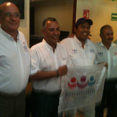 Niega Carlos Mario Villanueva Tenorio que los candidatos del PES sean imposición de Félix; rechaza que su padre apoye a Carlos