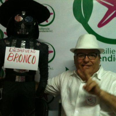"""""""LE VAMOS A DAR LA BIENVENIDA QUE MERECE"""": Pide 'bronquinto' de Cancún desafuero de 'El Bronco' mayor por apoyar a falso independiente Greg Sánchez"""