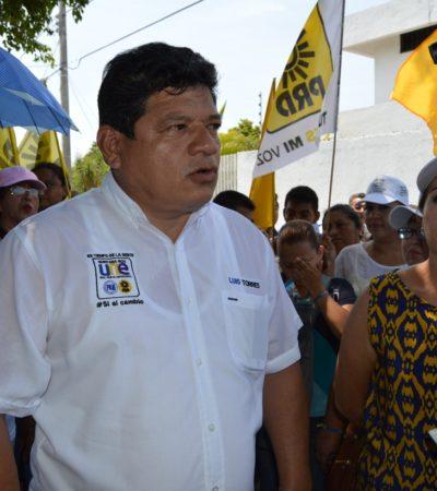 """""""No soy mago ni brujo, pero no es tolerable más pretextos en el municipio"""", dice Luis Torres"""