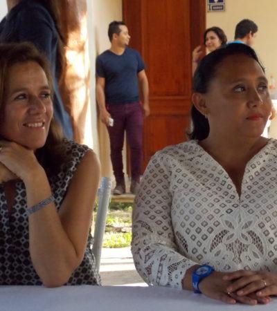 Exhorta Margarita Zavala a la población a votar por el cambio en Solidaridad