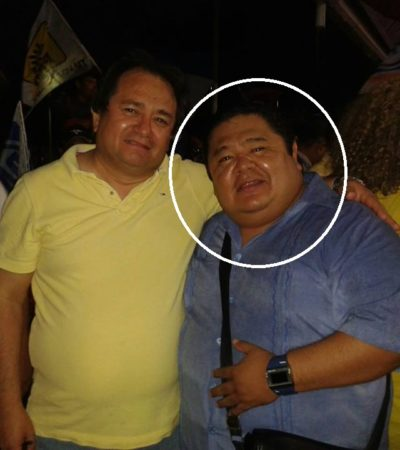 Baja el Teqroo a Mario Baeza, candidato suplente de Fernando Zelaya