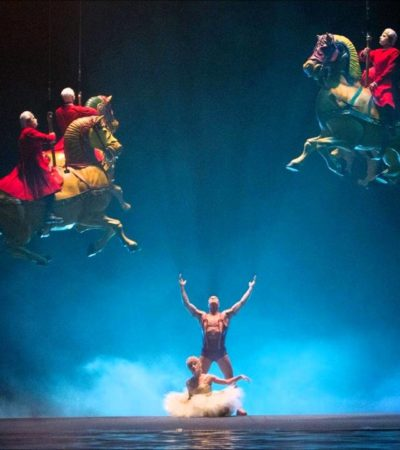 PROMOCIONARÁ CIRQUE DU SOLEIL A MÉXICO: Pagará Gobierno 47.7 mdd durante 5 años para montar espectáculo 'Luzia', inspirado en la cultura nacional