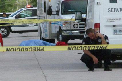 Muere hombre acuchillado en una riña en Cozumel; hay 4 detenidos