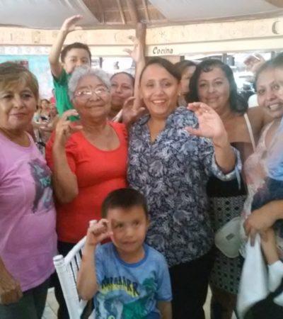 Garantiza Cristina Torres oportunidades para todos en Solidaridad
