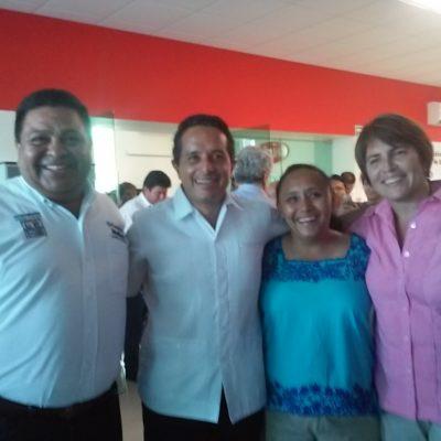 RESPALDAN CONSTRUCTORES CANDIDATURA DE CRISTINA Y CARLOS: Advierten Santiago Creel y Cristina Torres sobre guerra sucia