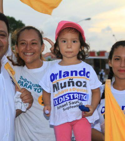 La guerra sucia no nos detendrá: Orlando Muñoz