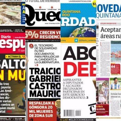 Rompeolas: Se 'confiesa' prensa local