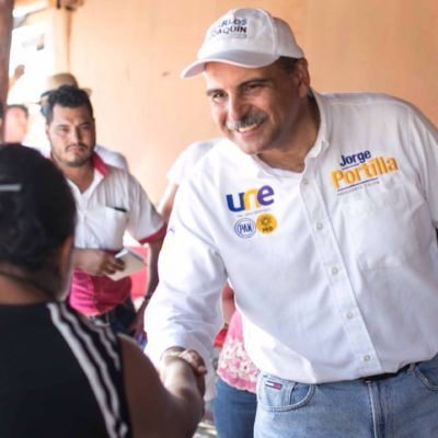 Afirman que Jorge Portilla está al frente de las preferencias electorales en Tulum