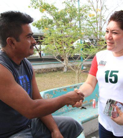 Dice Remedios Pantoja que será diputada gestora 'de tiempo completo'