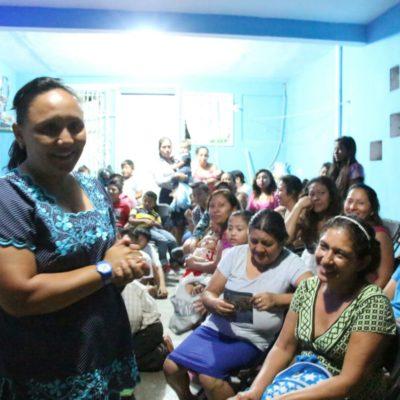 Reitera Cristina Torres compromiso con la mujer en Solidaridad