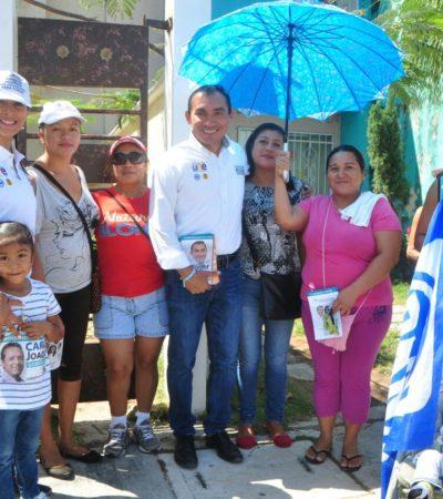 Pide candidato a diputación por el Distrito VI dar la batalla en las urnas y lograr la alternancia
