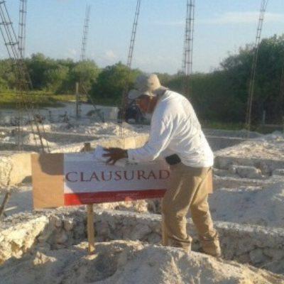 Por remoción de mangle de la reserva de Yum Balam, clausura Profepa construcción en Holbox