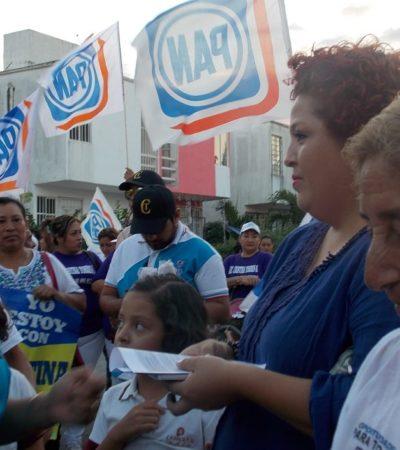 Ya se sienten los aires de cambio en Solidaridad: Cristina Torres