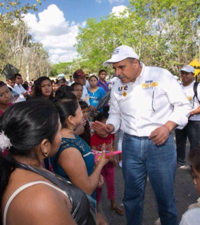 """""""Nada más importante que el poder de tu voto"""", dice Jorge Portilla Manica"""