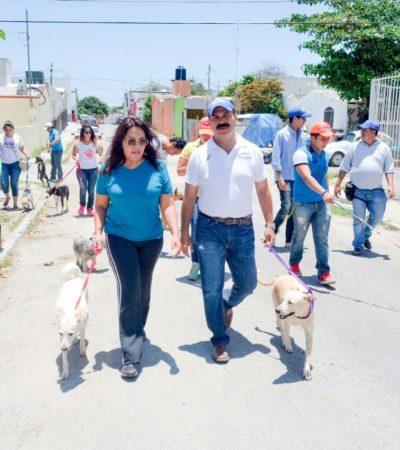 Firma Julián Ricalde compromiso para frenar maltrato animal y transformar el Centro de Atención Canina de Cancún