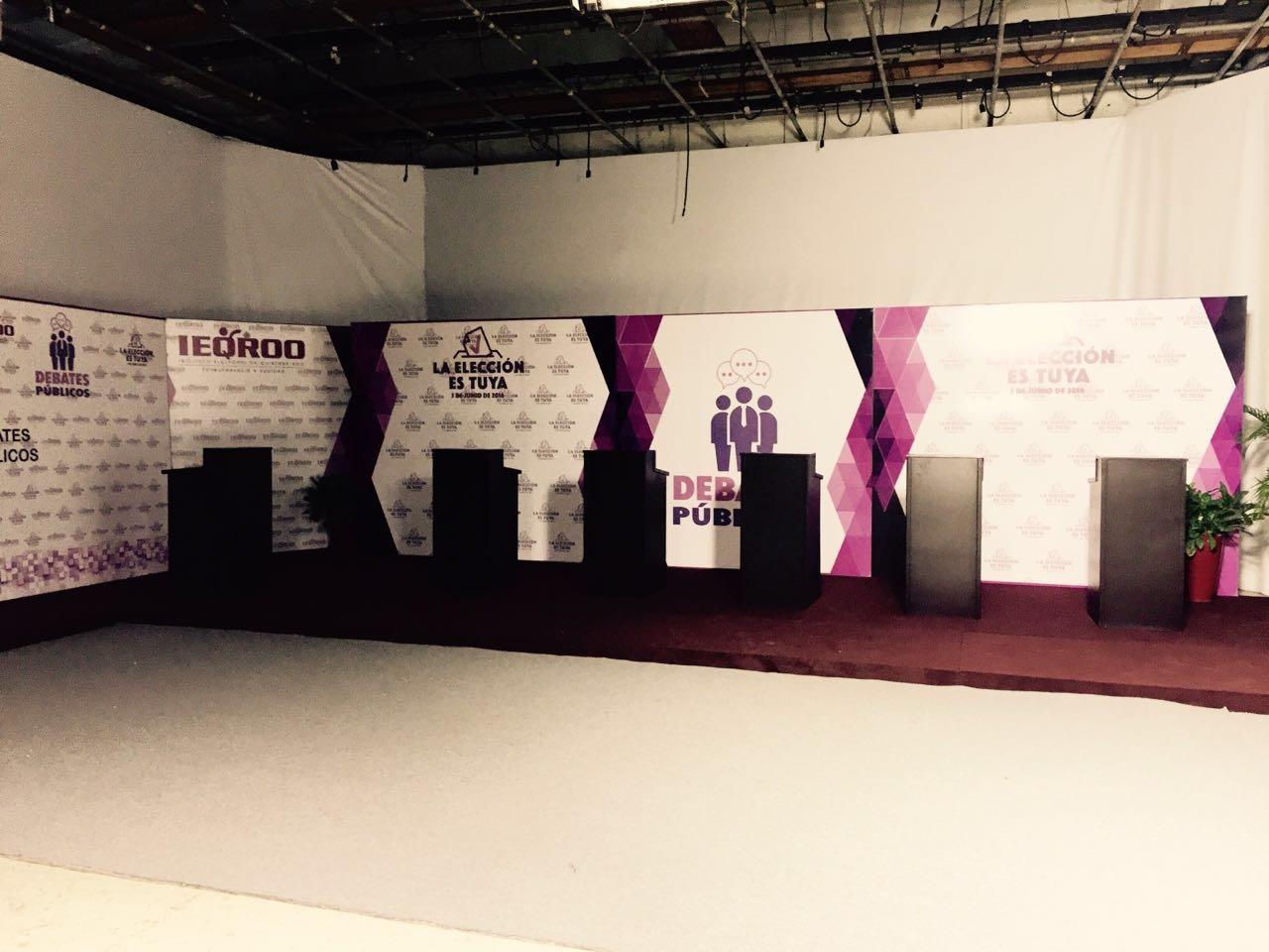 LOS DEBATES SABOTEADOS: De 17 encuentros programados, sólo se realizaría el debate entre candidatos a la gubernatura y duraría sólo una hora