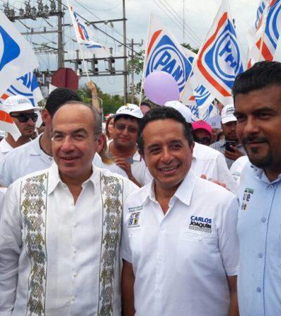 Llama Carlos Joaquín a la ciudadanía a votar porque es la mejor garantía para evitar el fraude