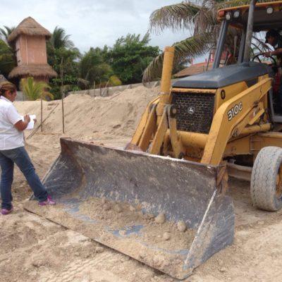 Clausura Profepa obras de construcción por remoción ilegal de vegetación en la zona costera de Tulum