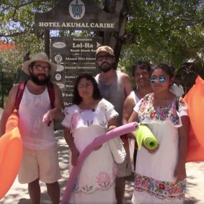 'MALLAS' CONTRA LOS MAYAS | 'Los Supercívicos' llegan a la Riviera Maya y demuestran lo difícil que es tener acceso a la playa