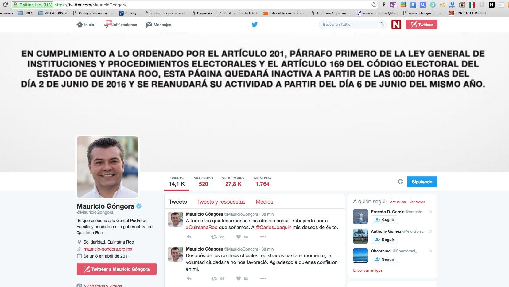 """""""LA VOLUNTAD CIUDADANA NO NOS FAVORECIÓ"""": Mauricio admite su derrota, luego de que ayer se proclamó ganador sin resultados; le desea 'exito' a Carlos"""