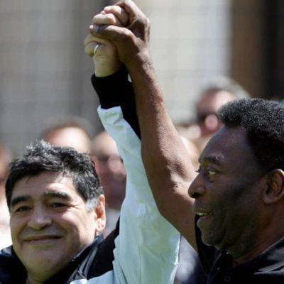 """""""MESSI NO TIENE MUCHA PERSONALIDAD COMO PARA SER LÍDER"""": Maradona desata la polémica al hablar con Pelé del astro argentino"""