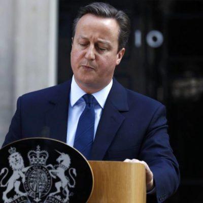SE QUEDA REINO UNIDO SIN 'CAPITÁN': Anuncia David Cameron su dimisión tras la derrota en la votación para permanecer en la Unión Europea