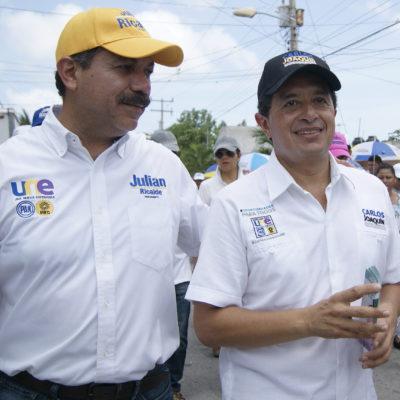 CONVOCA JULIAN RICALDE A EJECER EL VOTO UTIL: Llama a cancunenses a votar para que regrese la seguridad y mejoren los servicios