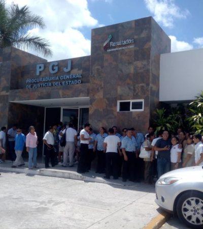 Agreden golpeadores a trabajadores del hotel Villas Palmas que protestaban por derechos laborales en Cancún