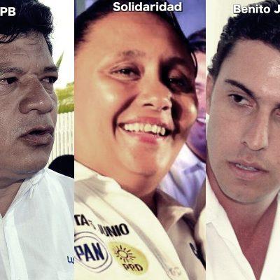 EL REPARTO DE MUNICIPIOS EN QR: Pierden ex alcaldes que buscaban repetir; gana alianza PAN-PRD en Cozumel, Solidaridad y OPB; Cancún, para el PVEM