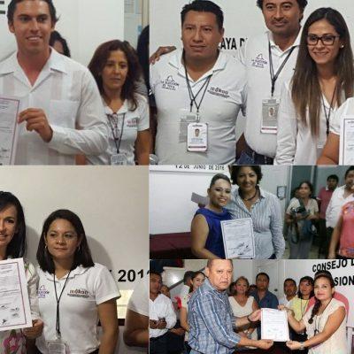 ENTREGAN CONSTANCIA DE MAYORÍA A ALCALDES ELECTOS: Cinco mujeres y seis hombres gobernarán los municipios de QR durante los próximos 2 años