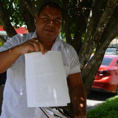 Burócratas exigen revocar la reelección de Roberto Poot en el Sutage