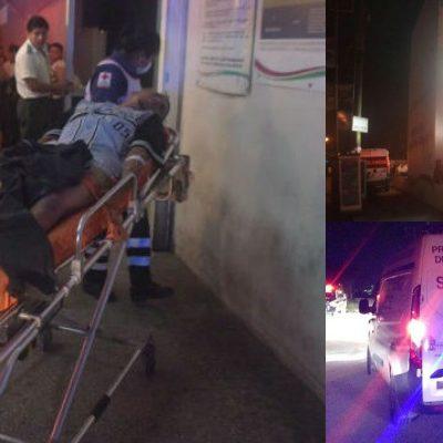 INICIA CANCÚN LA SEMANA CON OTRA BALACERA: Tres hombres heridos tras ser tiroteados en fraccionamiento Villas Otoch durante la madrugada