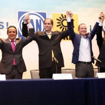 """""""DERROTAMOS A LOS MALOS GOBIERNOS"""": Celebran PAN y PRD triunfo de sus alianzas en QR, Veracruz y Durango; prometen resultados en favor de ciudadanos"""