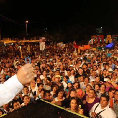 HISTÓRICA DERROTA AL PRI EN QR: Aventaja Carlos Joaquín por casi 10% a Mauricio Góngora y pone fin a la 'docena trágica' de la dupla Félix-Borge; ganan PAN-PRD Cozumel, Solidaridad, OPB y al menos 5 diputaciones de mayoría