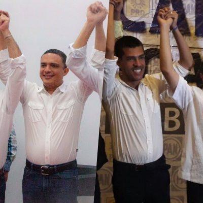 ESTÁ ELECCIÓN INCIERTA Y HUELE A CONFLICTO: Apenas cerraron casillas, Mauricio y Carlos se declaran ganadores en la carrera por la gubernatura en QR