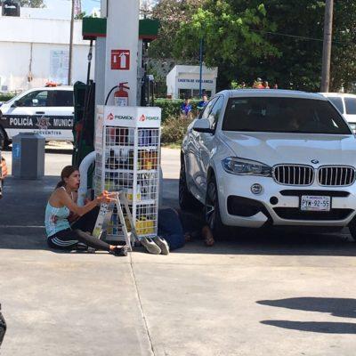 PRESUMEN AJUSTE DE CUENTAS EN DOBLE EJECUCIÓN: Familia baleada en gasolinera tenía 2 semanas en Cancún; aún no revelan la identidad de víctimas