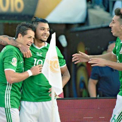 Avanza México a cuartos de final en Copa América tras derrotar 2-0 a Jamaica