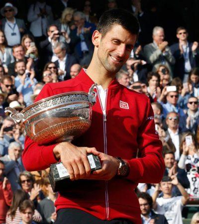 SE CONSAGRA DJOKOVIC EN PARÍS: El tenista serbio gana por primera vez el Roland Garros y completa el Grand Slam