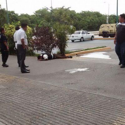 BALACERA EN PLAZA LAS AMÉRICAS DE PLAYA: Tres custodios de Cometra heridos durante un intento de asalto cuando rellenaban un cajero
