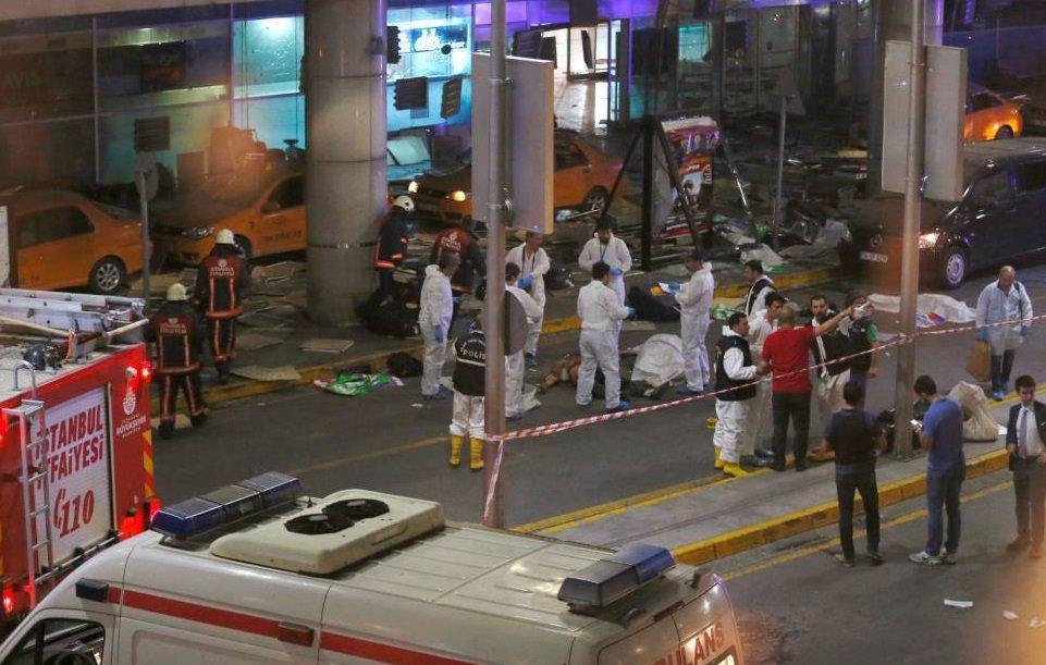 ATAQUE TERRORISTA EN TURQUÍA: Reportan al menos 36 muertos  y 147 heridos en atentado en aeropuerto de Estambul