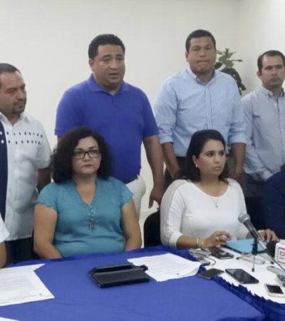 Diputados salientes y electos del PAN-PRD llaman a revertir las reformas aprobadas por el actual Congreso de QR