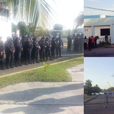 COBERTURA EN TIEMPO REAL | 'ALBAZO EN EL CONGRESO': Fuerte seguridad en torno al recinto legislativo previo a la sesión para blindar a Borge
