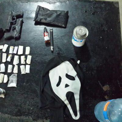 ESPANTAN EN LA CÁRCEL: Decomisan marihuana, filos, pistolas de plástico y hasta una máscara de 'scream'