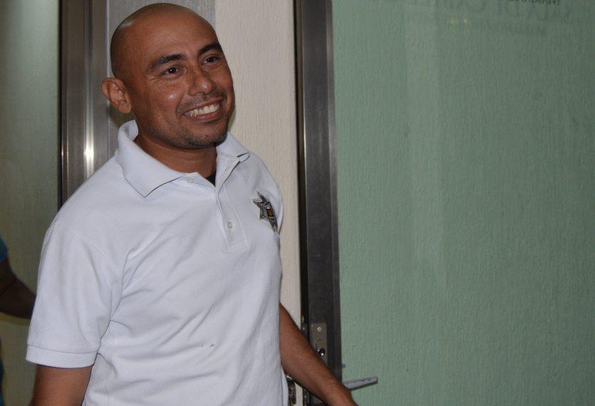 Didier Vázquez, jefe de la policía de OPB.